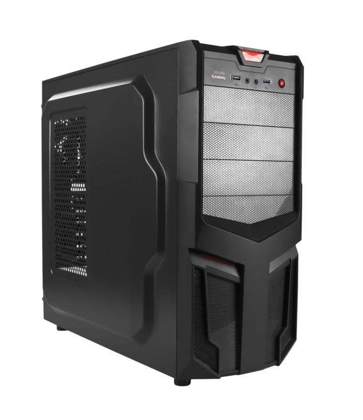 torre gamer cpu pc nuevo intel core i5 7400 gt 710 memoria ram 8gb ddr3 blindada board asrock disco duro 2tb 2000gb juegos gamer chasis case atx